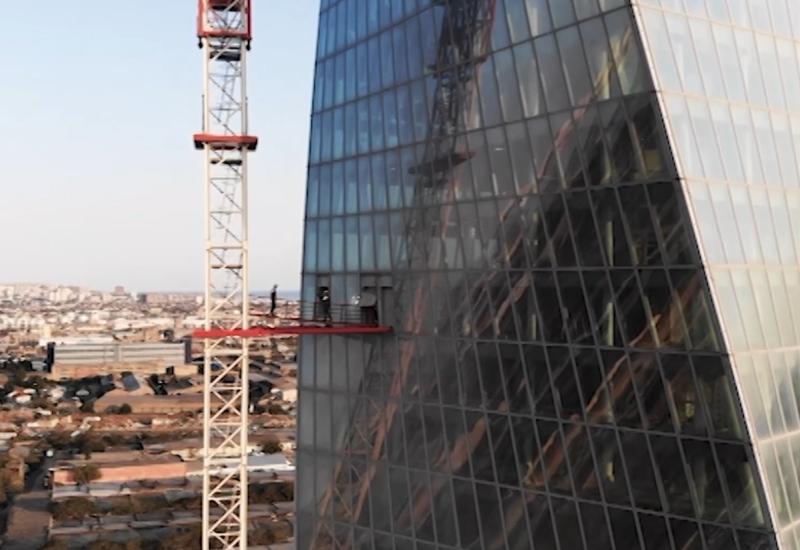 Интересные небоскрёбы Баку: как их строят?