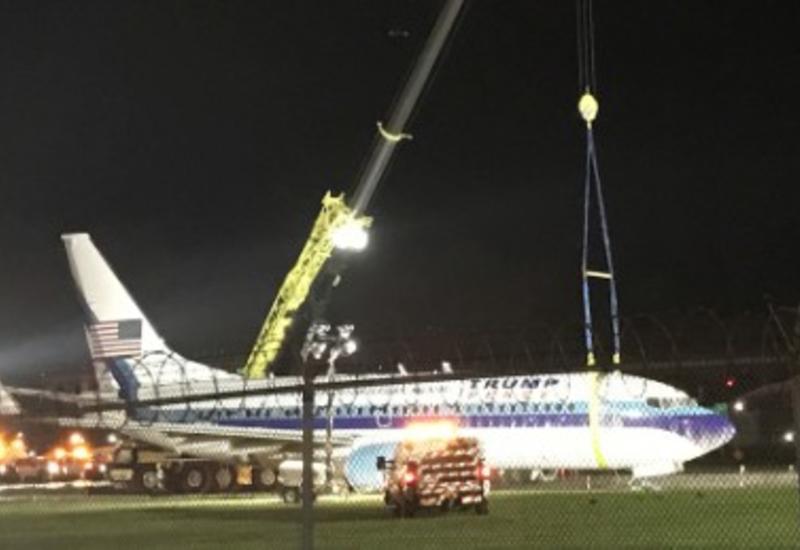 Самолет с вице-президентом США на борту попал в опасную ситуацию