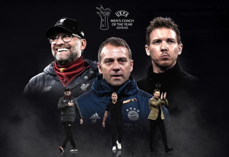 УЕФА назвал имена претендентов на награду лучшему тренеру сезона