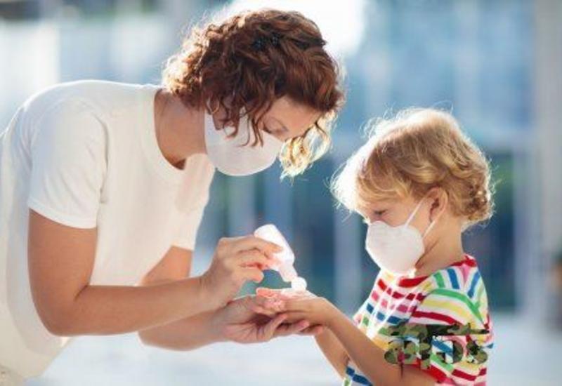 Показатель заражения коронавирусом у детей составляет 8,5% от общих случаев инфицирования