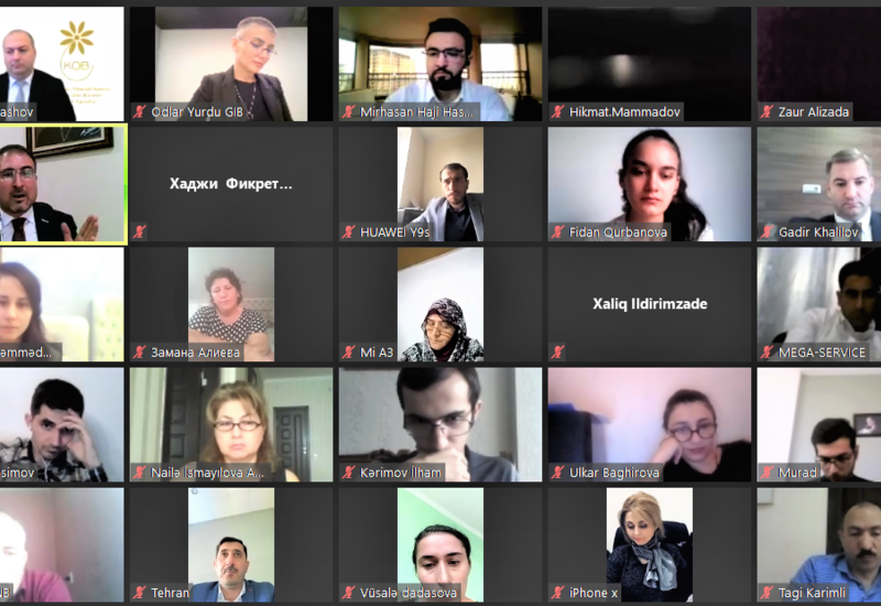 В Баку продолжил работу I международный онлайн-форум предпринимателей
