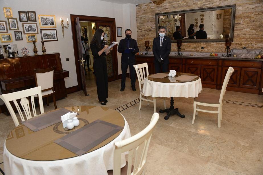 В Азербайджане обнародованы правила работы ресторанов в отелях