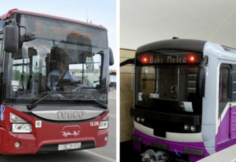 В Баку могут возобновить работу общественного транспорта по выходным