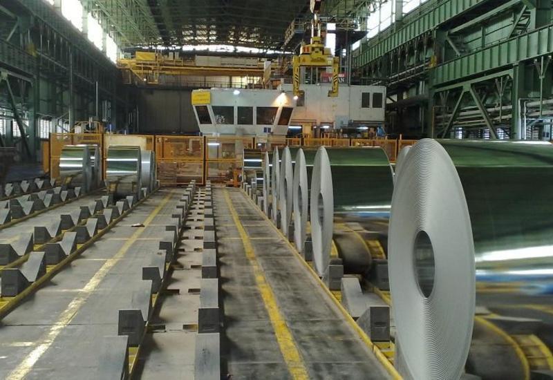В Азербайджане увеличилось производство металлопродукции