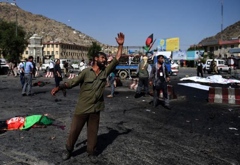Нападение талибов в Афганистане