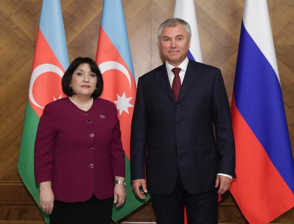 Сахиба Гафарова выступила в Совете Федерации Федерального Собрания