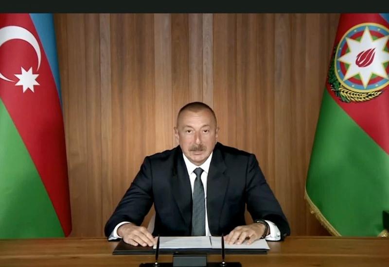 Президент Ильхам Алиев: Невыполнение резолюций Совета Безопасности подрывает авторитет ООН