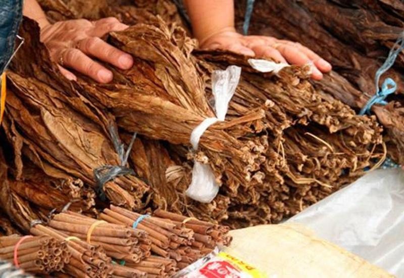 В прошлом году Азербайджан экспортировал табак на $13,4 млн