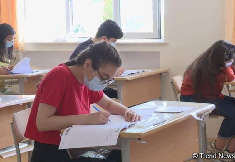 Двое учащихся с высокой температурой не были допущены на экзамен