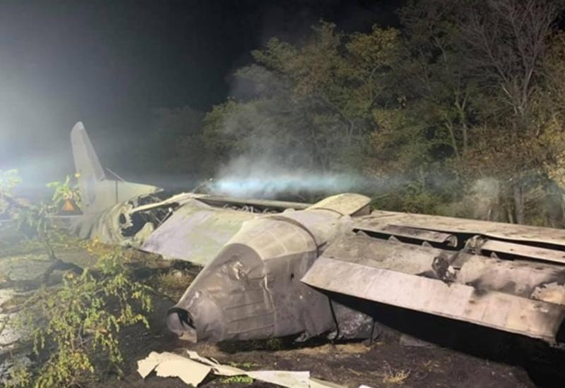 При падении украинского самолета погибли почти все пассажиры