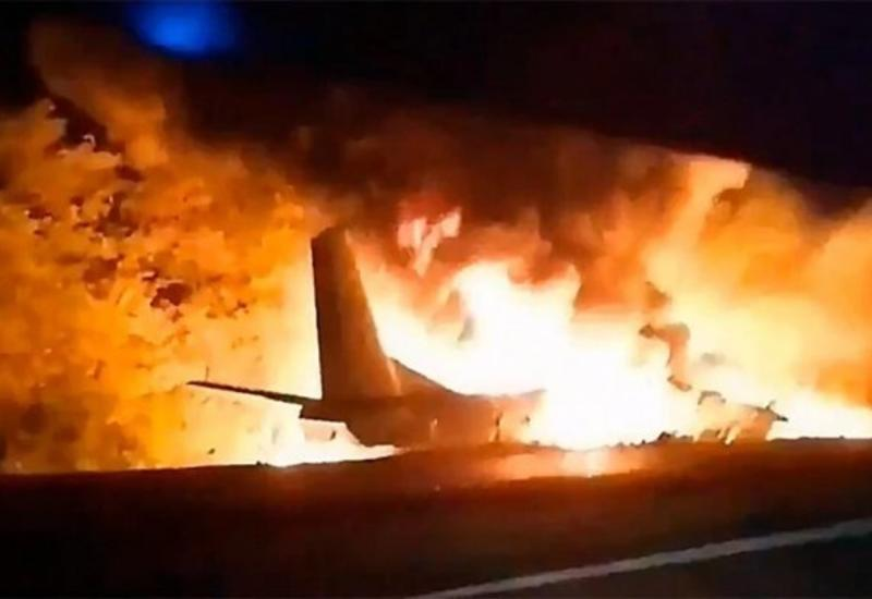 В Украине разбился самолет