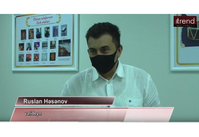 Коллектив и родители учеников Детской школы искусств №3 в Баку благодарят Первого вице-президента Мехрибан Алиеву за созданные условия