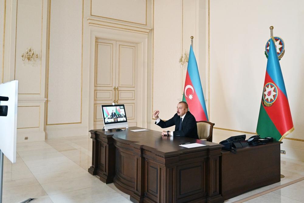 Под председательством Президента Ильхама Алиева состоялось заседание Совета безопасности