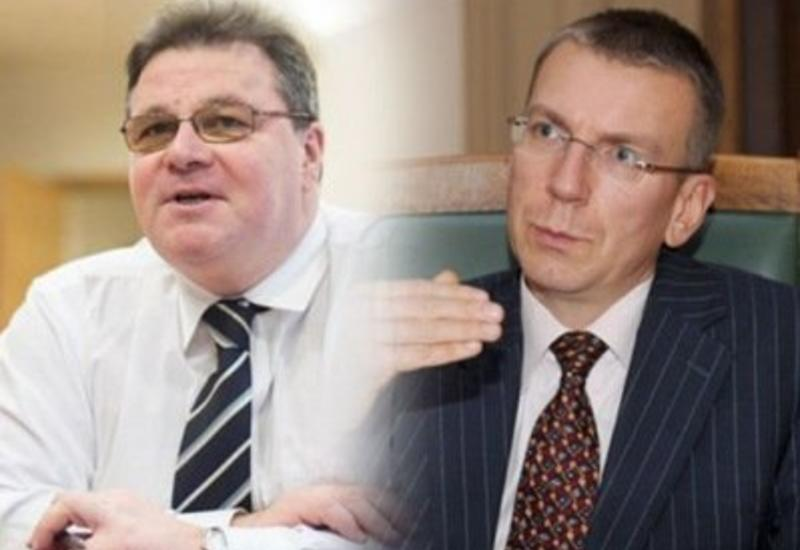 Главы МИД Литвы и Латвии выразили обеспокоенность в связи с масштабной провокацией Армении в Карабахе