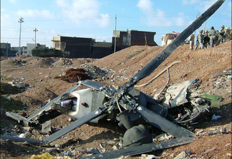Азербайджан сбил 4 военных вертолета Армении