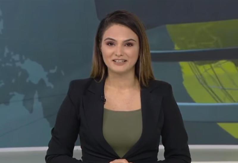 Азербайджанская ведущая новостей не смогла сдержать слез, объявляя освобождение оккупированных сел