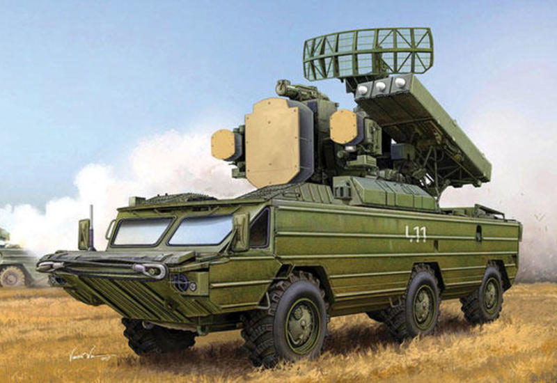 Азербайджанская армия уничтожила 12 армянских зенитно-ракетных комплексов