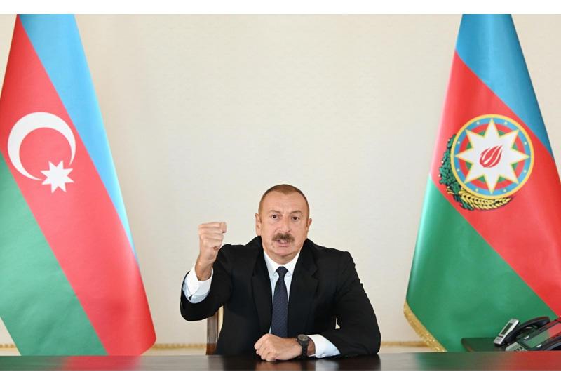 Президент Ильхам Алиев: Армения получила и получит наказание