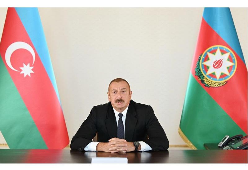 Президент Ильхам Алиев: Наша дело правое, мы победим!