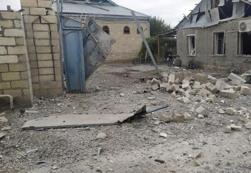 Армяне обстреляли жилые дома в Агдаме