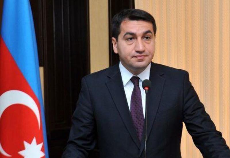 Хикмет Гаджиев дал интервью каналу Al Jazeera в связи с последними провокациями Армении