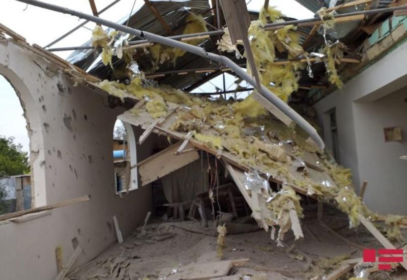 Армяне обстреляли населенный пункт в Агдаме