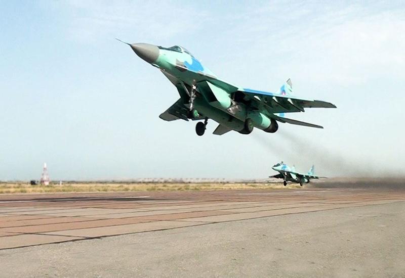 Минобороны Азербайджана о наличии истребителей F-16