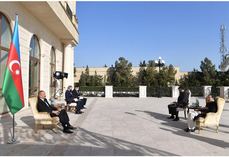 Президент Ильхам Алиев: Исламофобская и азербайджанофобская политика уже стала официальной идеологией Армении