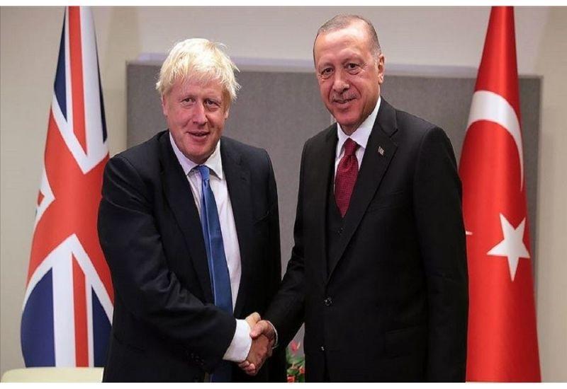 Эрдоган и Джонсон обсудили ситуацию в Нагорном Карабахе