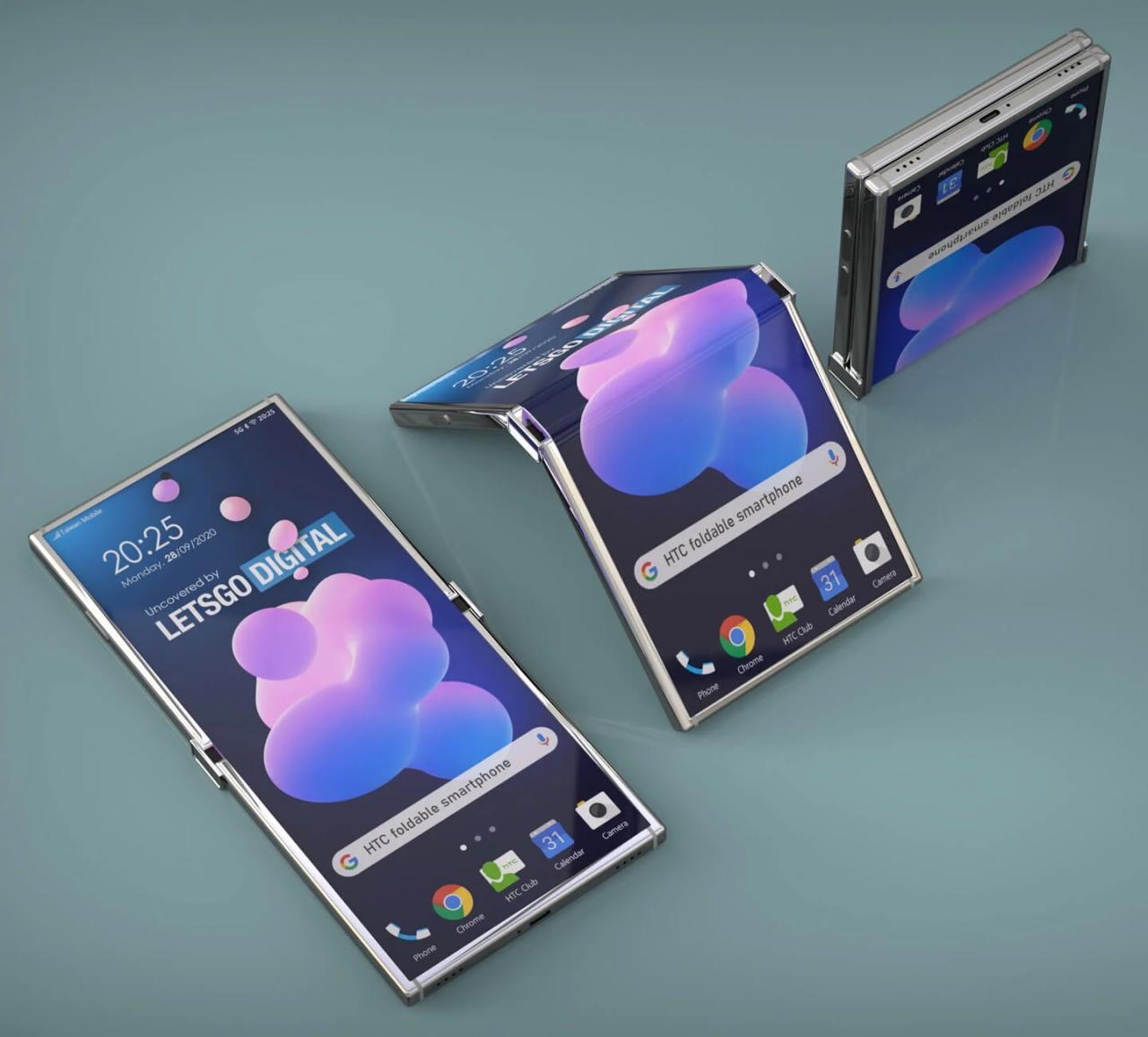 Первый гибкий смартфон показали на патентных изображениях