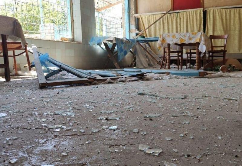В Агдамском районе в жилой дом попал армянский снаряд