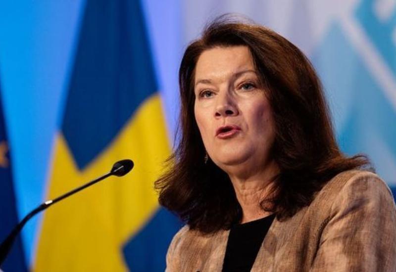 Отложен визит главы МИД Швеции в Азербайджан