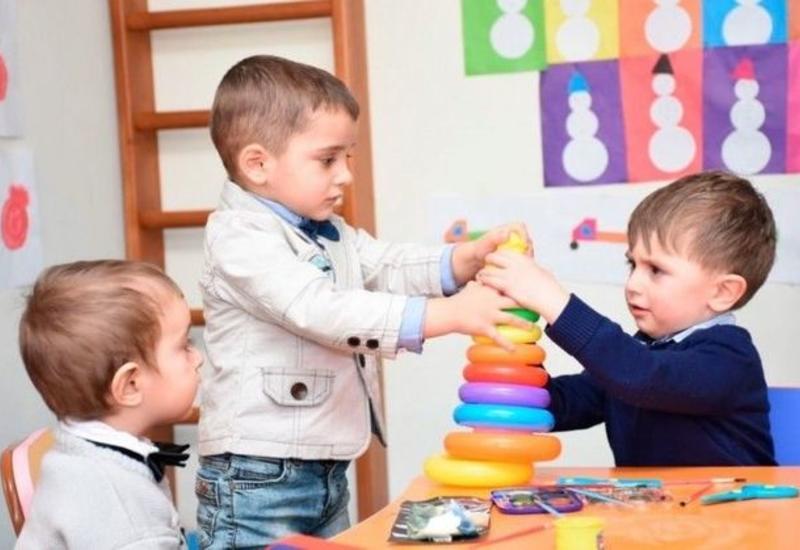 Стало известно, когда начнут работать детсады в Баку, Сумгайыте и Абшеронском районе