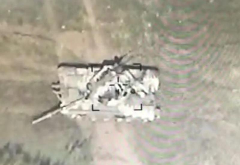 В Джебраильском районе уничтожены армянские танки