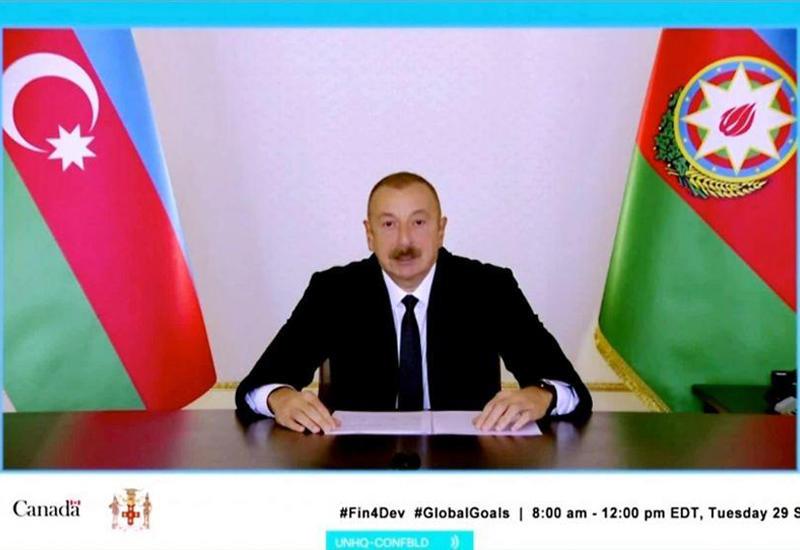 Президент Ильхам Алиев: Азербайджан придает особое значение справедливому распределению доходов от энергического сектора между нынешним и будущими поколениями