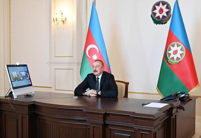 Президент Ильхам Алиев: Мы вынуждены были дать адекватный ответ агрессору и таким образом защитить свой народ, своих людей и свою землю