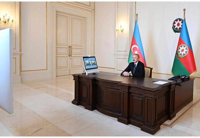 Президент Ильхам Алиев: Мы способны сами за себя постоять и наказать агрессора так, чтобы ему было неповадно больше даже смотреть в нашу сторону