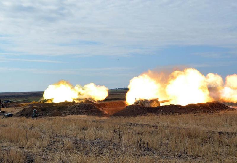 Армения обстреливает из артиллерии азербайджанские позиции в Физули