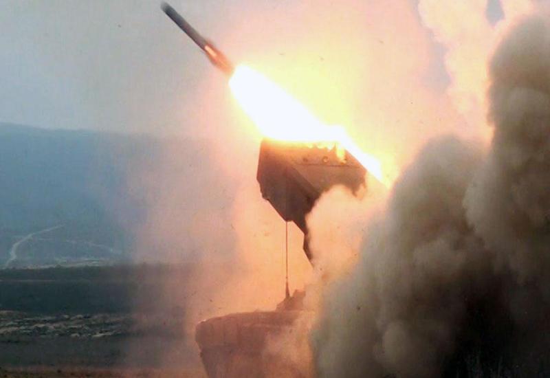 Противник ведет артиллерийский обстрел по Геранбойскому району