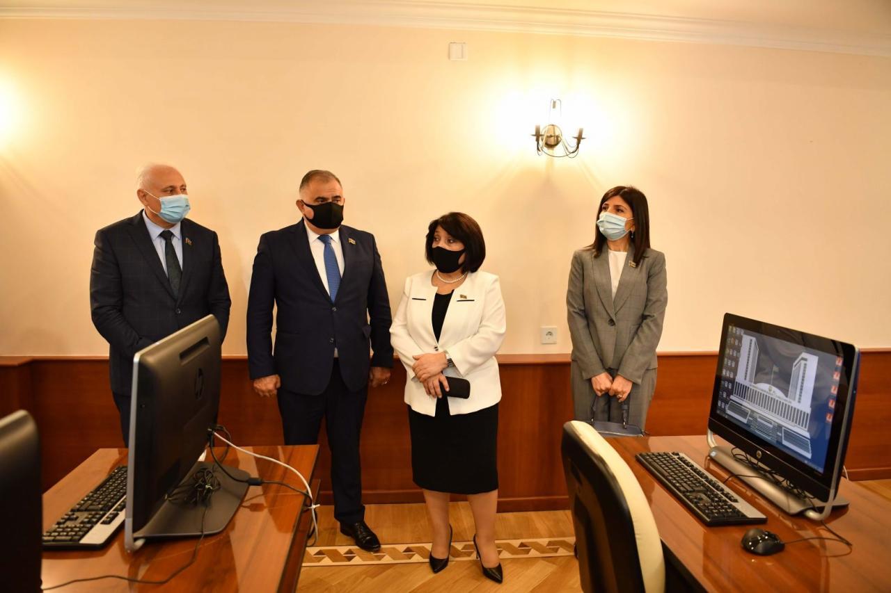 Сахиба Гафарова провела брифинг