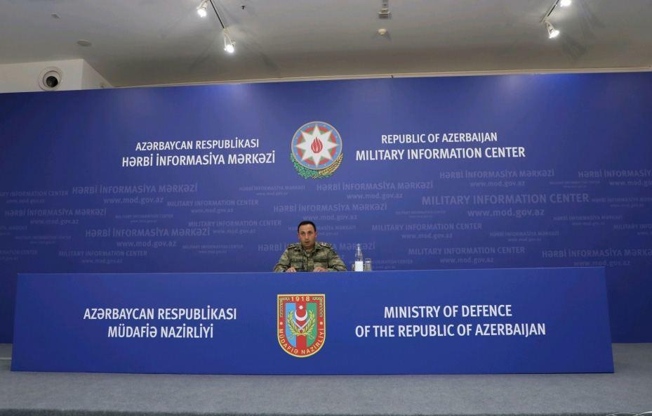 Азербайджанская армия продолжает решительную контрнаступательную операцию