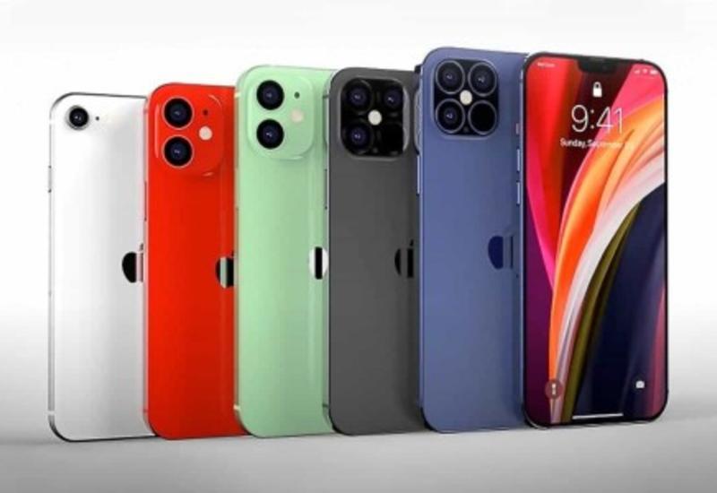 Apple представит сразу пять моделей iPhone 12