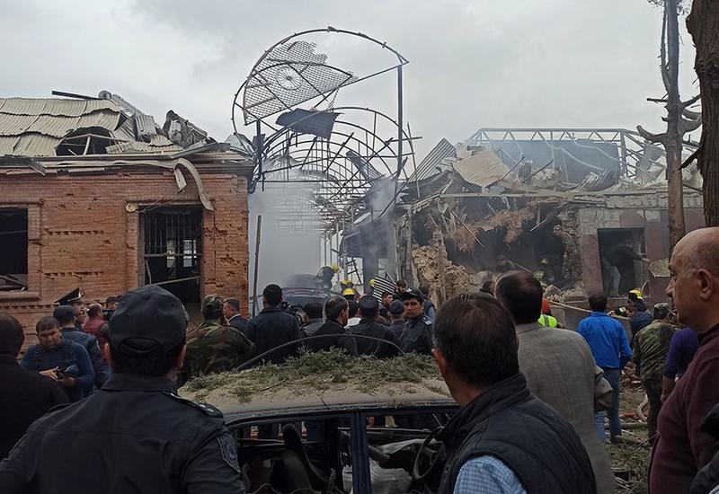 При обстреле Гянджи поврежден исторический памятник
