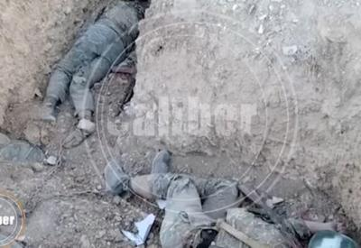 Армяне сажают своих солдат на цепь - чтобы не сбежали - Шокирующие кадры