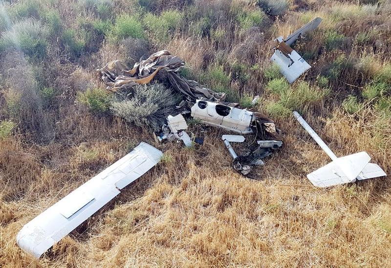 Над Агджабеди уничтожен армянский беспилотник