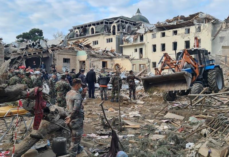 Омбудсман распространила заявление в связи с годовщиной второго обстрела из тяжелой артиллерии Гянджи