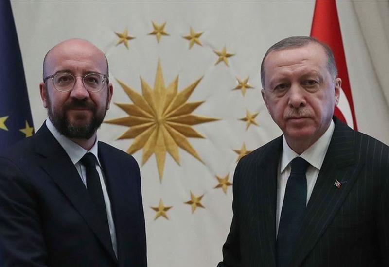 Эрдоган главе Европейского совета: Проявите твердую позицию по территориальной целостности Азербайджана