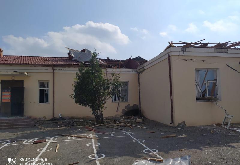 В результате армянских обстрелов погибли 8 и ранены 16 школьников