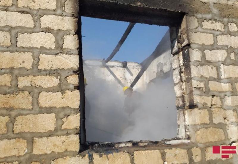 Армянский снаряд попал в жилые дома в Агдаме,