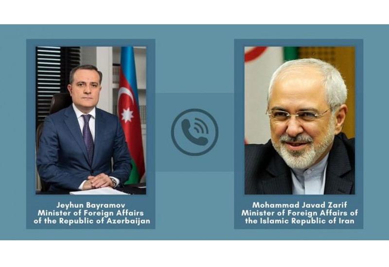 Главы МИД Азербайджана и Ирана обсудили ситуацию в регионе